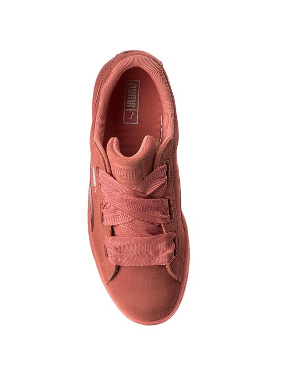 Puma Puma Sneakersy Suede Heart SNK Jr 364918 05 Różowy