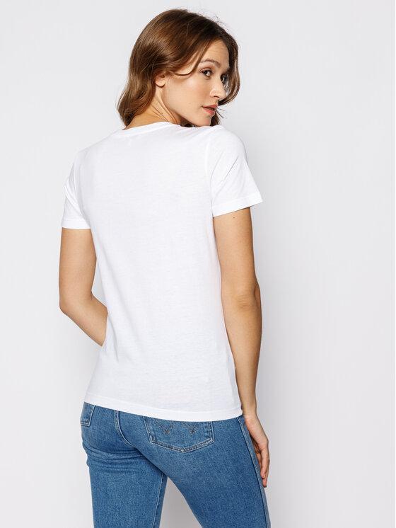 Tommy Hilfiger Tommy Hilfiger T-Shirt Essential WW0WW25281 Λευκό Regular Fit