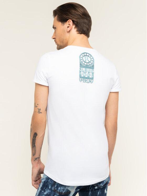 Rage Age Rage Age T-Shirt Perun Bílá Slim Fit