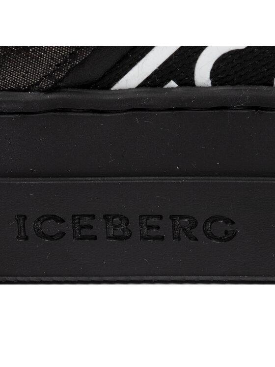 Iceberg Iceberg Sneakersy Gioia 19IID1631A Czarny