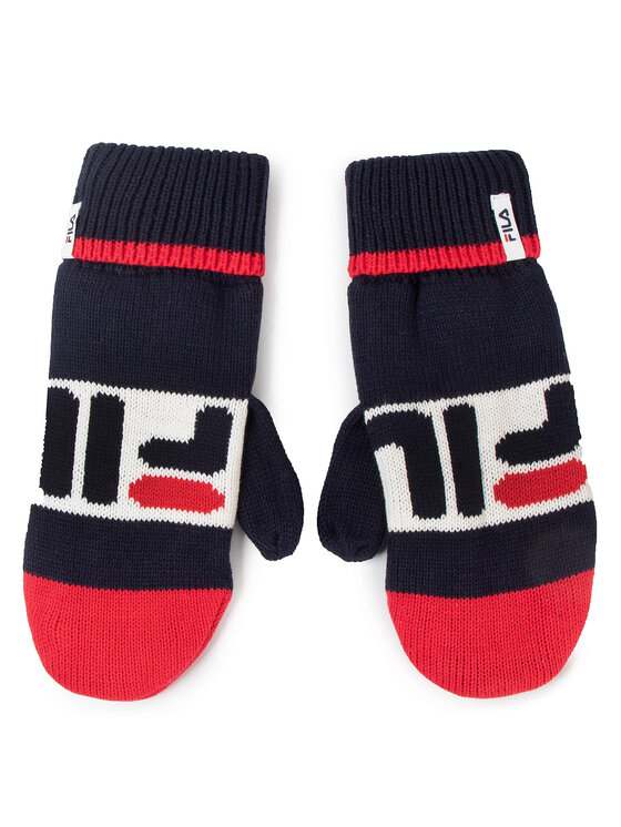 Fila Fila Pánske rukavice Knitted Mittens 686041 Tmavomodrá