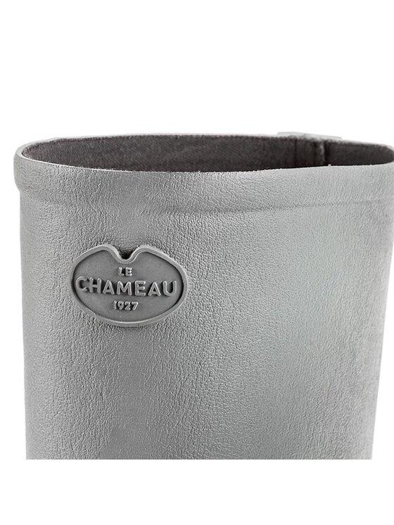 Le Chameau Le Chameau Γαλότσες Bte Paris J Fe BCB1930 Γκρι