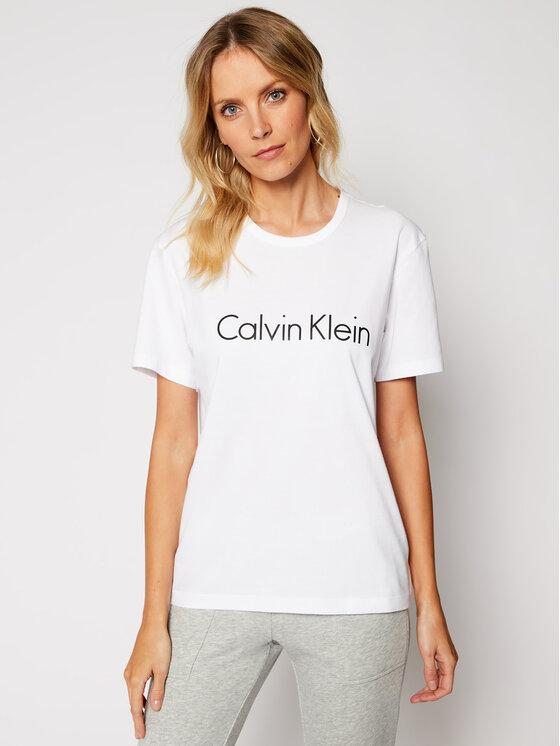 Calvin Klein Underwear Calvin Klein Underwear Tričko 000QS6105E Biela Regular Fit