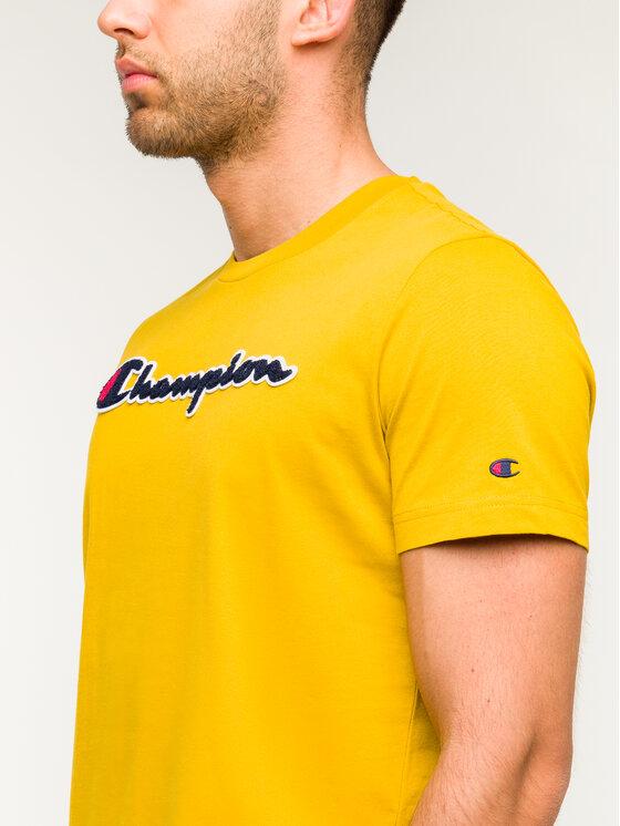 Champion Champion T-Shirt 213521 Żółty Comfort Fit
