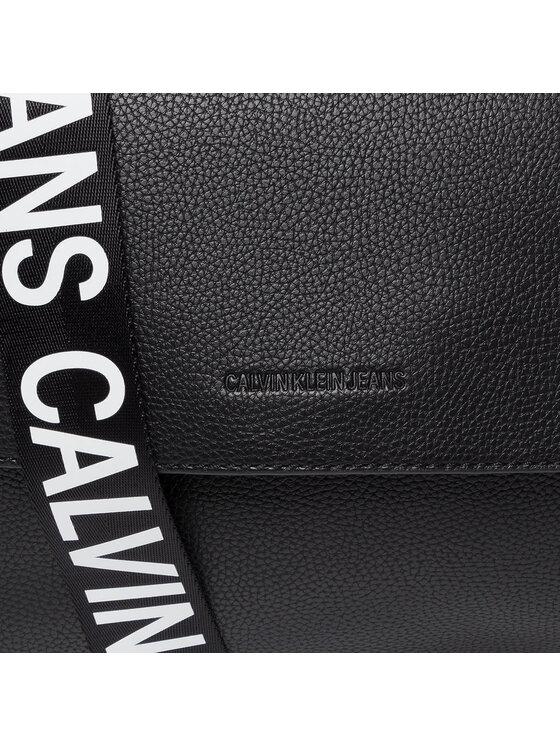 Calvin Klein Jeans Calvin Klein Jeans Torebka Ckj Ultra Light Flap Shoulderbag K60K606586 Czarny