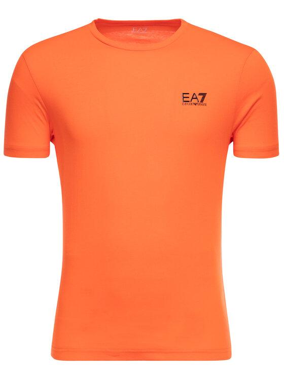 EA7 Emporio Armani EA7 Emporio Armani T-Shirt 3GPT51 PJM9Z 1683 Orange Regular Fit