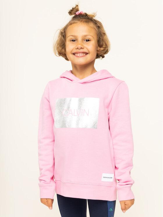 Calvin Klein Jeans Calvin Klein Jeans Bluza IG0IG00177 Różowy Regular Fit