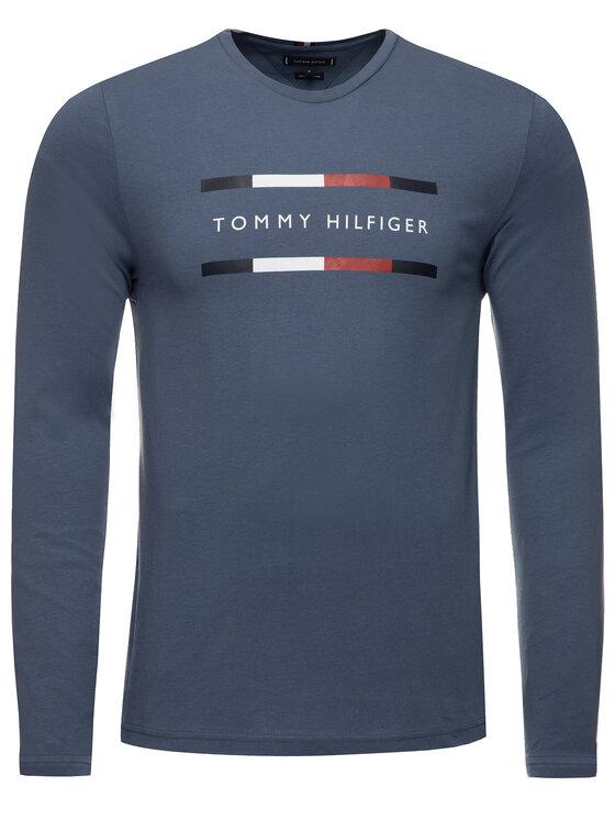 Tommy Hilfiger Tommy Hilfiger Longsleeve Corp MW0MW11807 Σκούρο μπλε Regular Fit