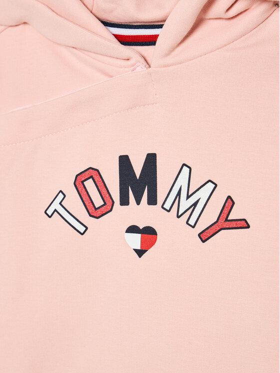 Tommy Hilfiger Tommy Hilfiger Dres KN0KN01278 Różowy Regular Fit
