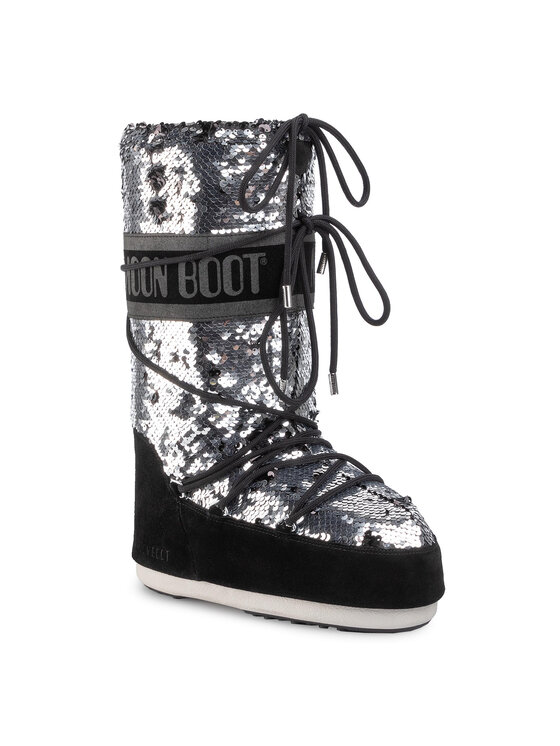 Moon Boot Sniego batai Classic Disco 14025200 Juoda