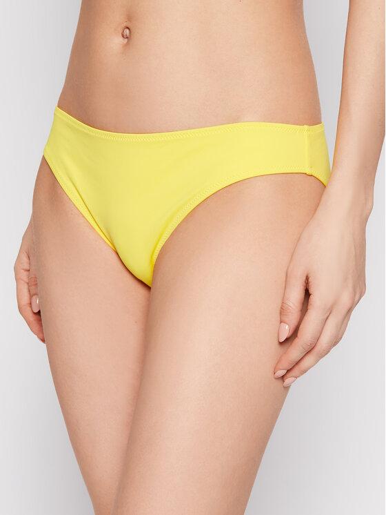 Calvin Klein Swimwear Bikinio apačia KW0KW01331 Geltona