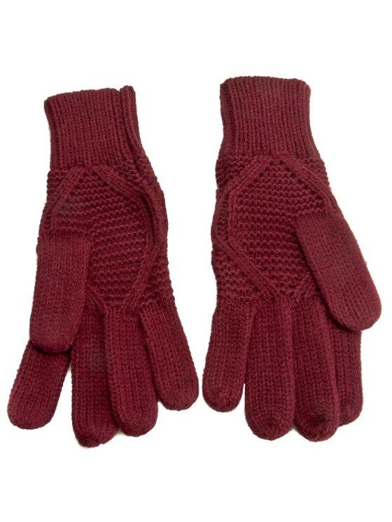 Pepe Jeans Pepe Jeans Rękawiczki Damskie Tom Gloves PL080116 Bordowy