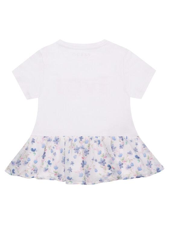 Guess Guess Ежедневна рокля K01I19 K82K0 Бял Regular Fit