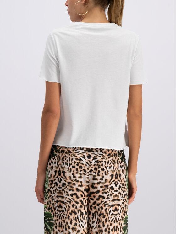Guess Guess Marškinėliai E92I03 JR04F Balta Regular Fit