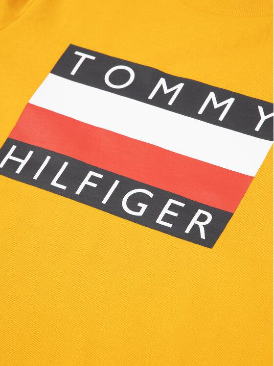 Tommy Hilfiger Tommy Hilfiger Tričko Essential Tee KB0KB05547 M Žltá Regular Fit