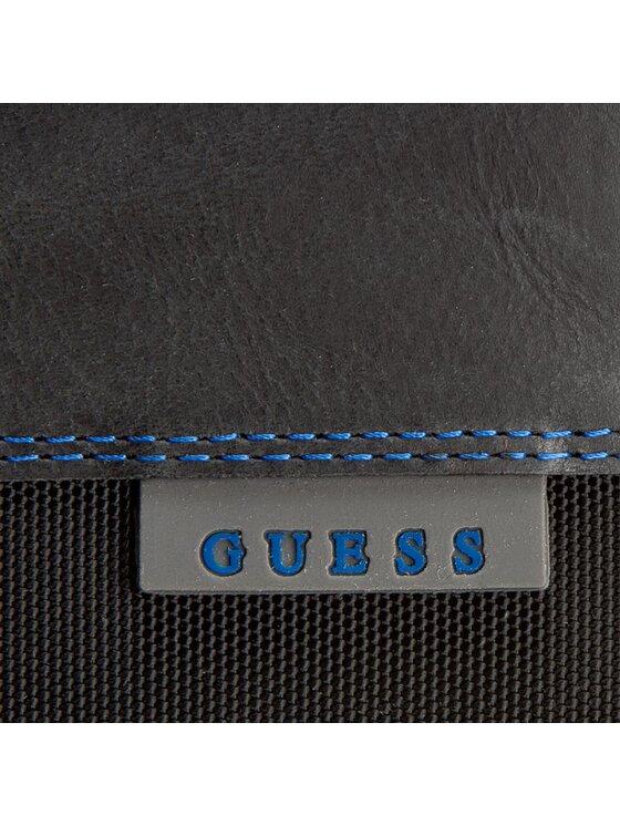 Guess Guess Μεγάλο Πορτοφόλι Ανδρικό Turj Slg SM3008 LEA20 Μαύρο