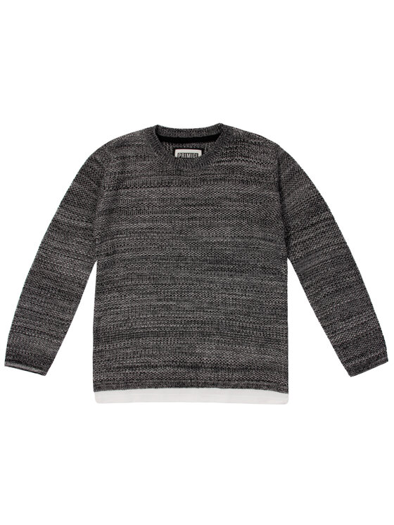 Primigi Primigi Пуловер 43143051 Черен Long Fit