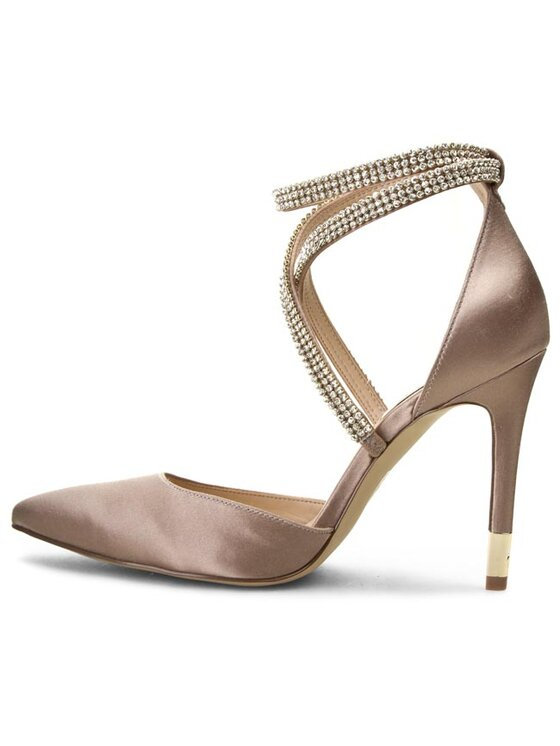 Guess Guess Обувки на ток Alixana2 FL1XA2 SAT08 Бежов