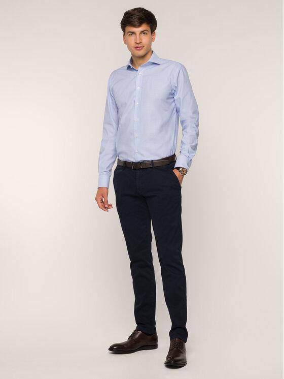 Emanuel Berg Marškiniai HV37 Mėlyna Modern Fit