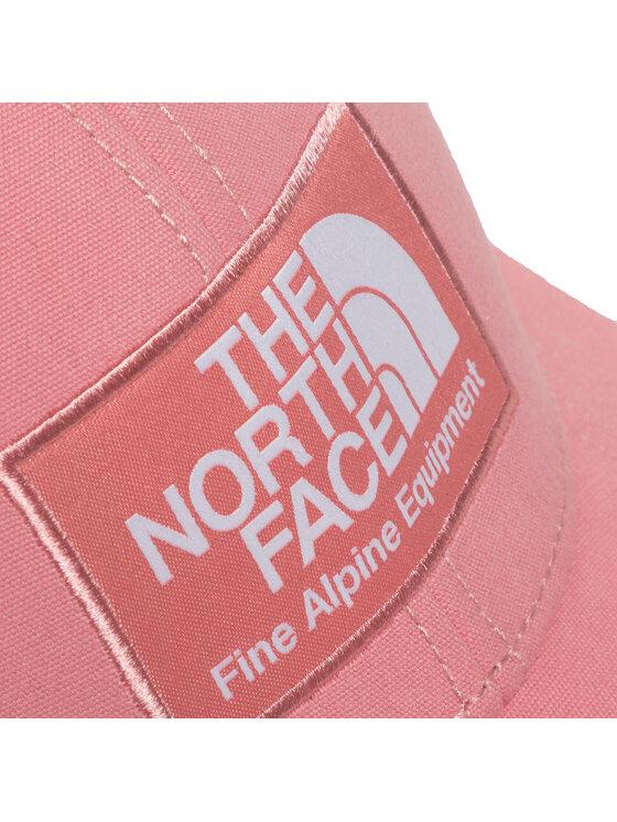The North Face The North Face Czapka z daszkiem Mudder Trucker Hat NF00CGW2HK41 Różowy