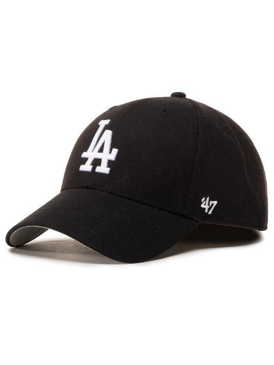 47 Brand Kepurė su snapeliu Mlb Los Angeles Dodgers '47 Mvp B-MVP12WBV-BKJ Juoda