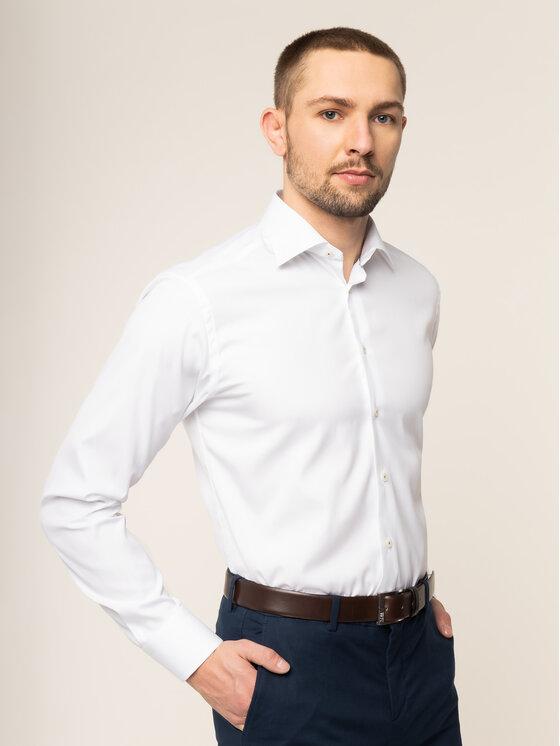 Eton Marškiniai 100000492 Balta Slim Fit