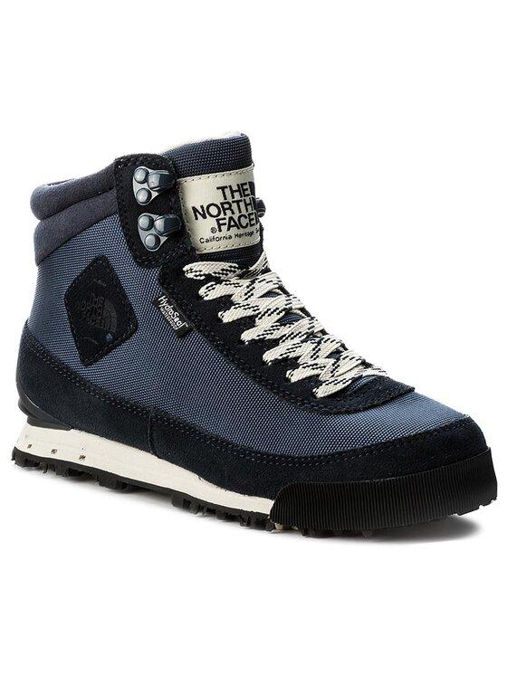 The North Face The North Face Turistická obuv Back-To-Berkeley Boot II T0AIMFJBR Tmavomodrá