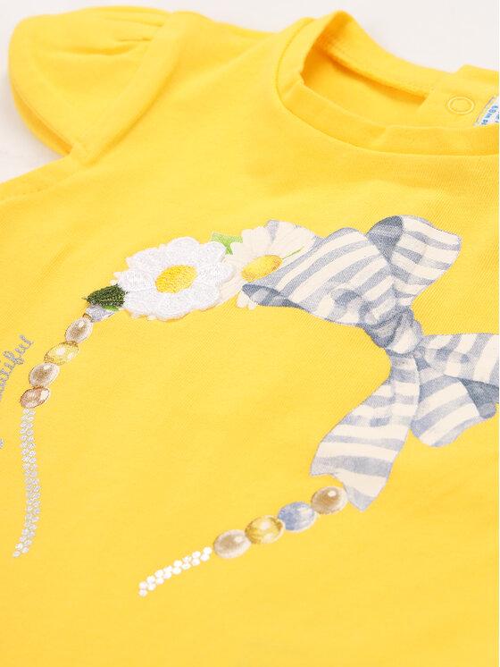 Mayoral Mayoral T-Shirt 1060 Gelb Regular Fit