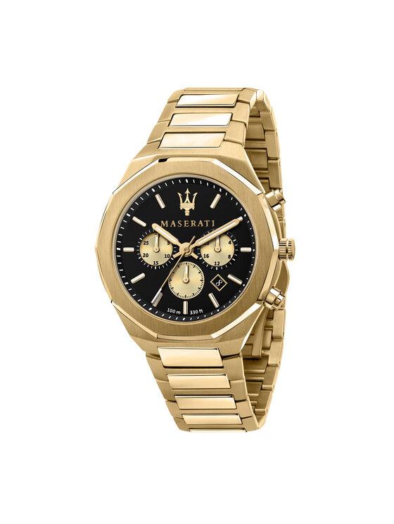 Maserati Laikrodis Stile R8873642001 Auksinė