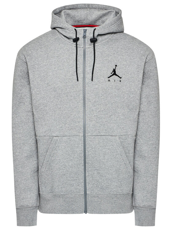 Nike Nike Bluza Jordan Jumpman Air CK6679 Szary Standard Fit
