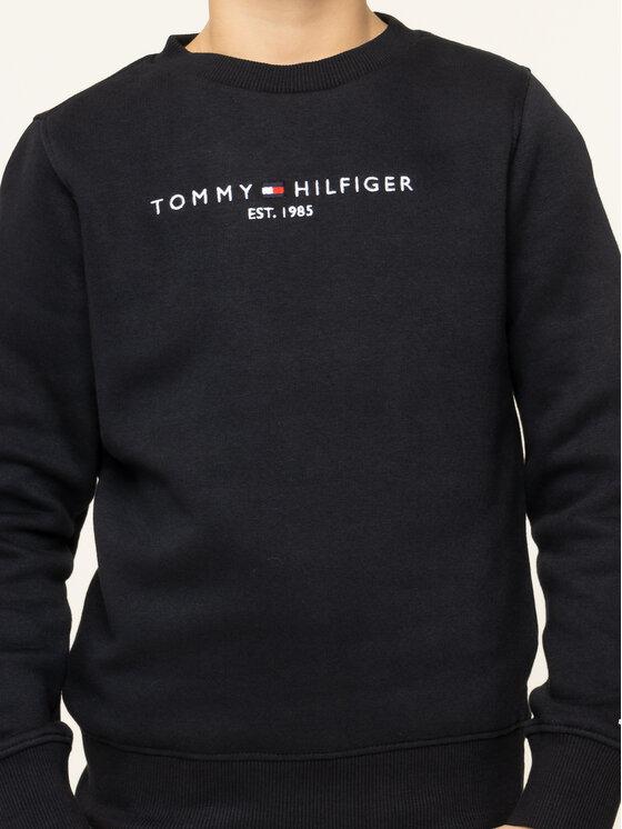 Tommy Hilfiger Tommy Hilfiger Μπλούζα Essential KB0KB05056 D Μαύρο Regular Fit