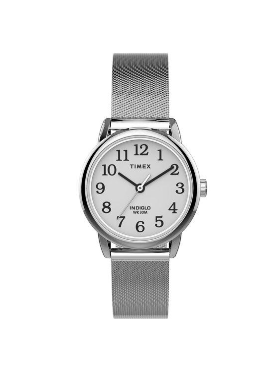Timex Laikrodis Easy Reader Classic TW2U07900 Sidabrinė