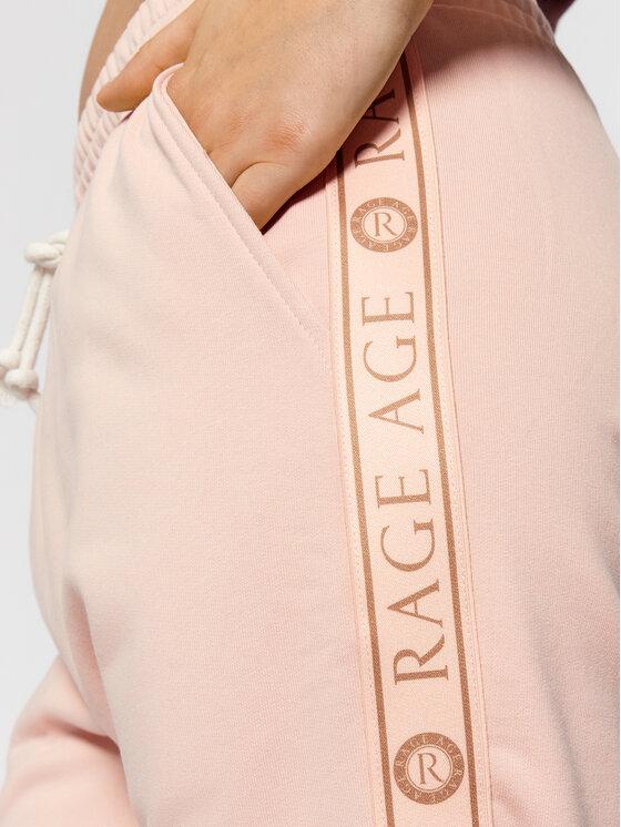 Rage Age Rage Age Spodnie dresowe Quinn Różowy Regular Fit