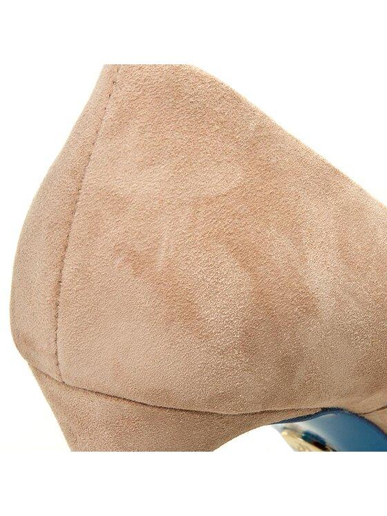 Loriblu Loriblu Pantofi cu toc subțire 7E 249001 2C Bej