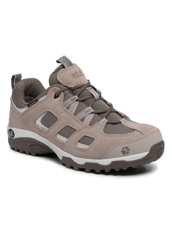 Jack Wolfskin Jack Wolfskin Trekingová obuv Vojo Hike 2 Texapore Low W 4032391 Hnědá