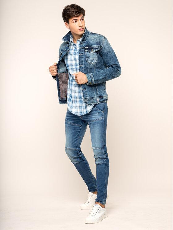G-Star Raw G-Star Raw Marškiniai D14071-7058-9469 Mėlyna Slim Fit