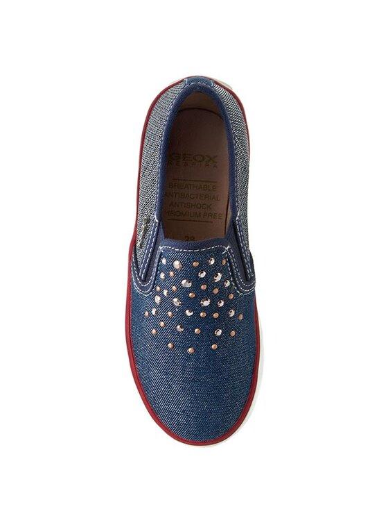 Geox Geox Sneakers aus Stoff J Kiwi G. D J62D5D 0ZDAS C4001 Dunkelblau