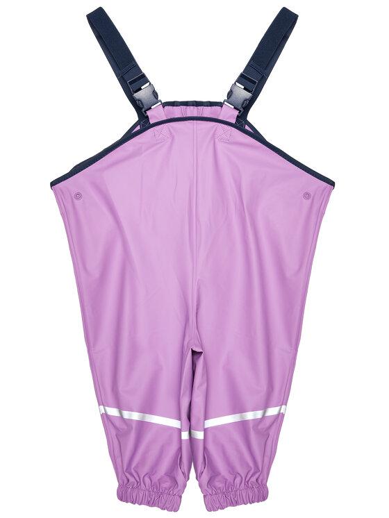 Playshoes Playshoes Spodnie przeciwdeszczowe 405424 M Fioletowy Regular Fit