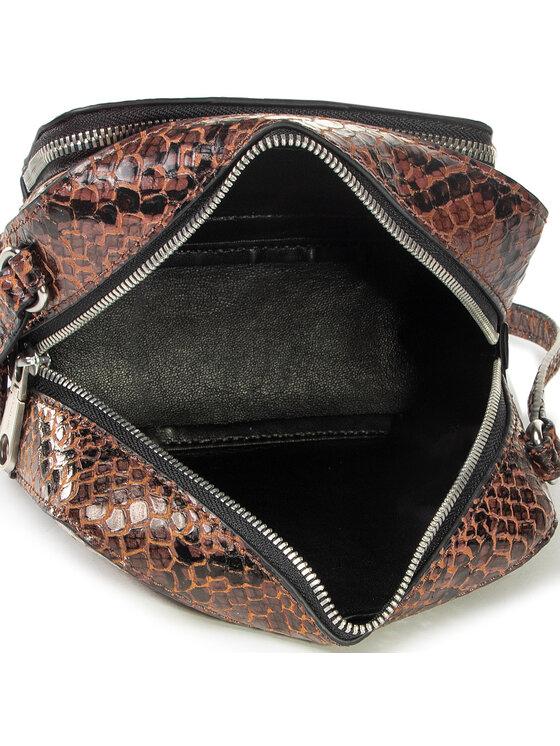 Calvin Klein Jeans Calvin Klein Jeans Torebka Camera Bag W/Pckt Python K60K606895 Brązowy