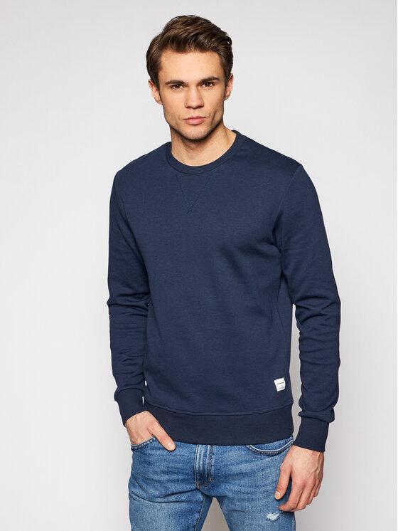 Jack&Jones Džemperis Basic 12181903 Tamsiai mėlyna Regular Fit