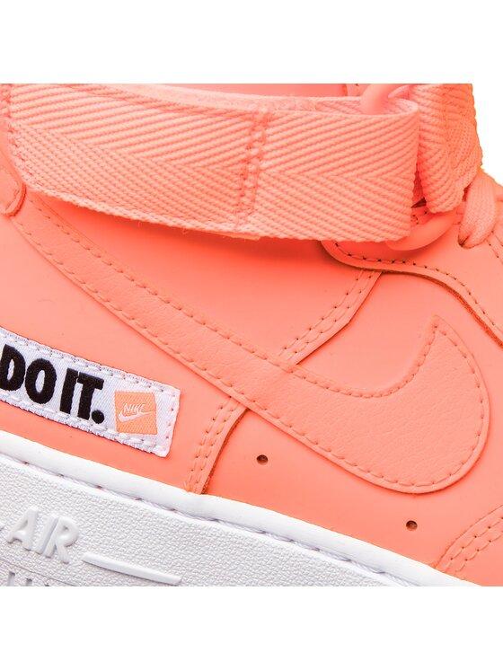 Nike Nike Schuhe Air Force 1 Hi Lx Lthr BQ7925 800 Orange