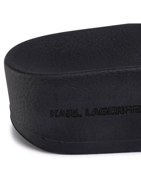 KARL LAGERFELD KARL LAGERFELD Natikače KL80805 Crna