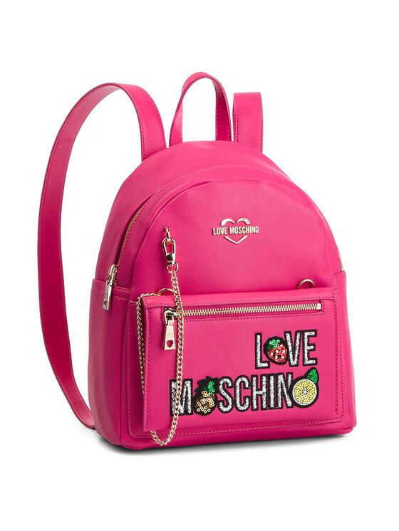LOVE MOSCHINO LOVE MOSCHINO Plecak JC4276PP07KL0604 Różowy