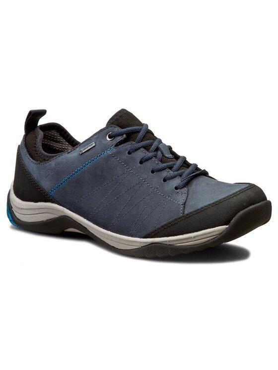 Clarks Clarks Обувки Baystonelo Gtx 261193657 Тъмносин