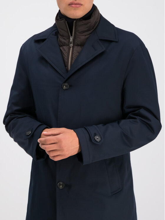 Joop! Joop! Зимно палто 30017270 Тъмносин Regular Fit