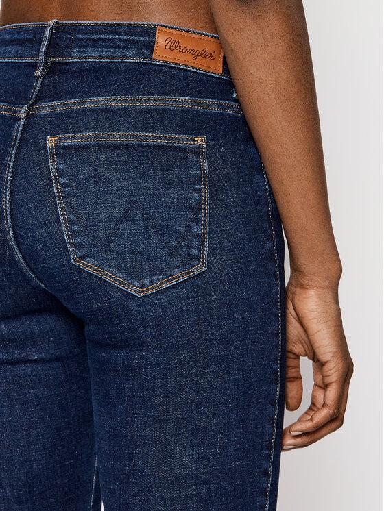 Wrangler Wrangler Jeansy Slim Fit Body Bespoke W28LVH78Y Granatowy Slim Fit