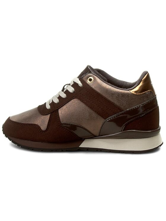 Tommy Hilfiger Tommy Hilfiger Sneakersy Sady 13C2 FW56821999 Hnedá
