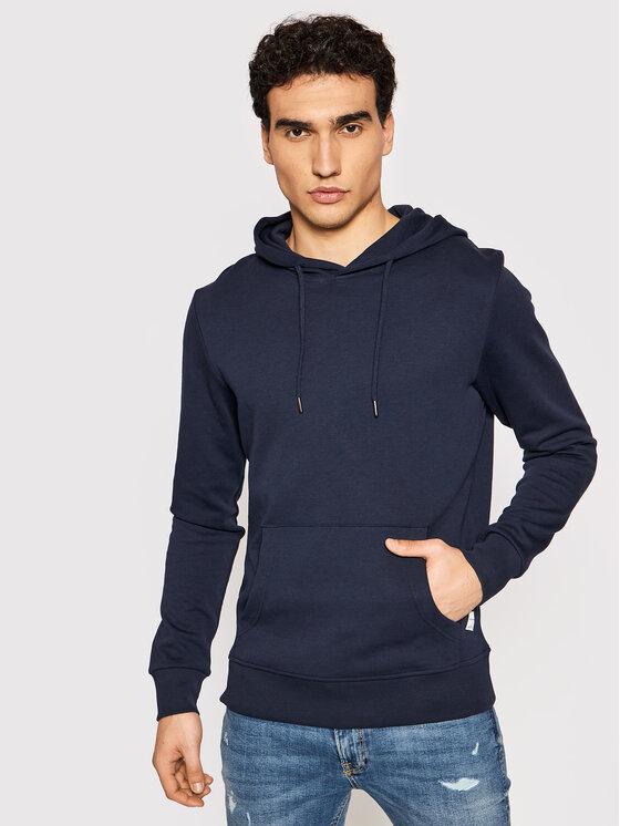 Jack&Jones Džemperis Basic 12182537 Tamsiai mėlyna Regular Fit