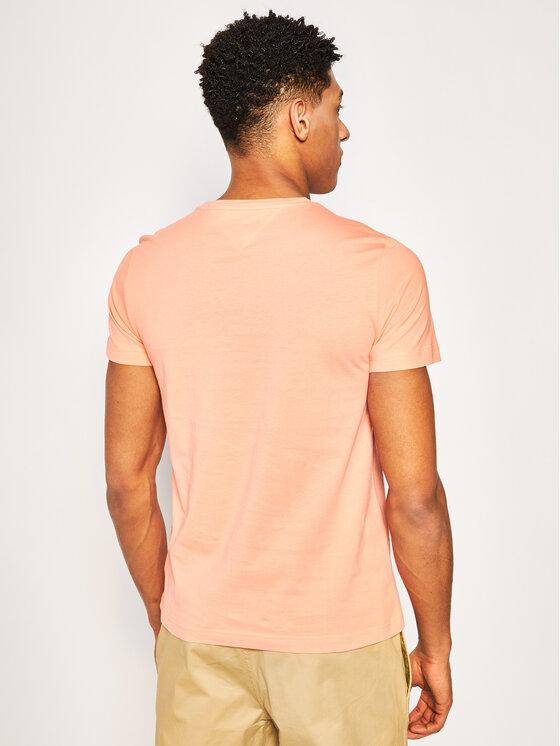 Tommy Hilfiger Tommy Hilfiger T-Shirt MW0MW13328 Pomarańczowy Regular Fit