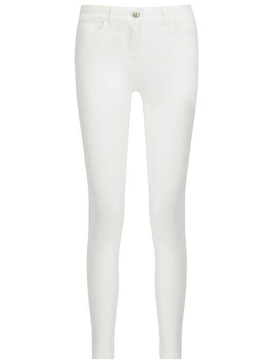 Patrizia Pepe Patrizia Pepe Τζιν Slim Fit BJ2031/A3EW-W146 Λευκό Slim Fit